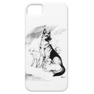 Dog Heaven, the Master's Flock iPhone SE/5/5s Case
