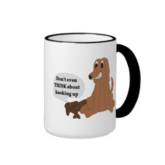 Dog Hook Up Ringer Mug