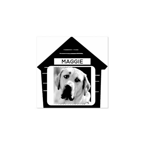 Dog House Create Your Own Rubber Stamp