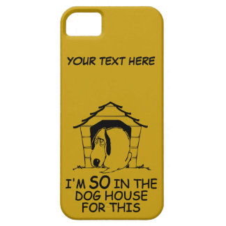DOG HOUSE custom color iPhone case iPhone 5 Cover