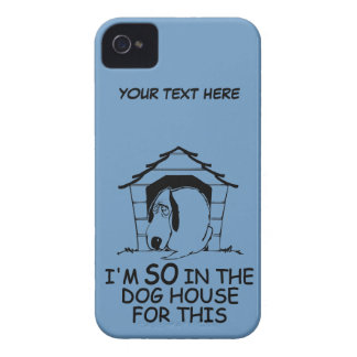 DOG HOUSE custom color iPhone case-mate iPhone 4 Covers
