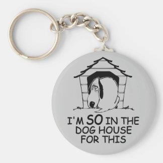 DOG HOUSE custom color  key chain