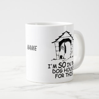 DOG HOUSE custom mugs 20 Oz Large Ceramic Coffee Mug