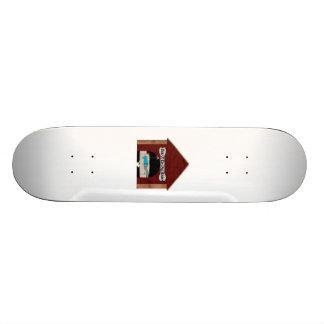 Dog House Man Skateboard Deck