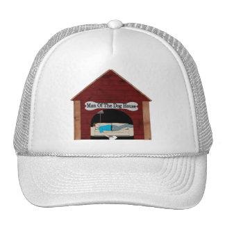 Dog House Man Trucker Hat