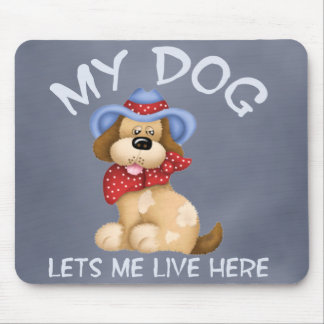 Dog House Mouse Pad