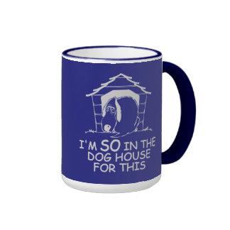 DOG HOUSE mug - choose style & color