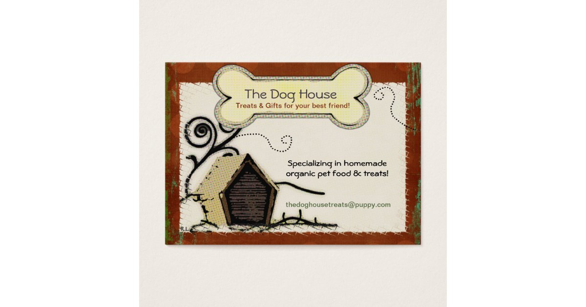 Pet Food Business Cards & Templates | Zazzle