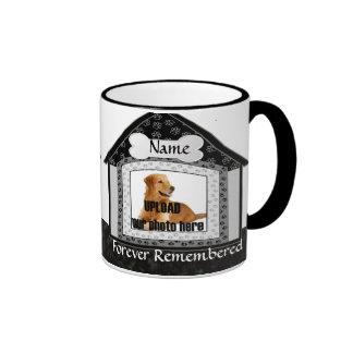 Dog House Pet Memorial Keepsake Mugs