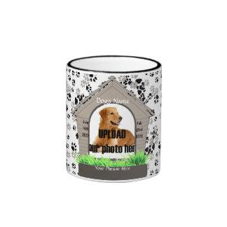 Dog House Pet Memorial Keepsake Ringer Mug