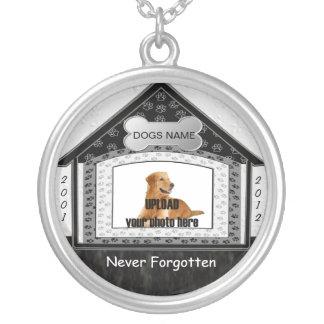 Dog House Pet Memorial Necklaces
