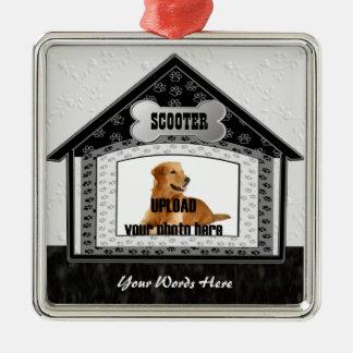 Dog House Pet Memorial Christmas Ornament