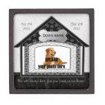 Dog House Pet Memorial Premium Keepsake Box