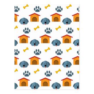 Dog house postcard