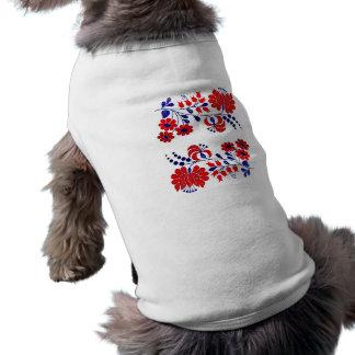 dog, hungarian, embroidery doggie tee