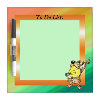 Dog Ideas To Do List Dry Erase Board