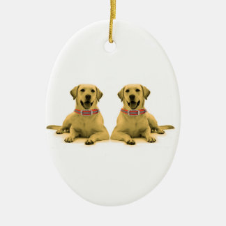 Dog image for Oval Ornament