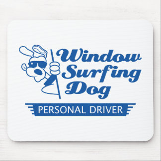 Dog In A Car Mouse Pad