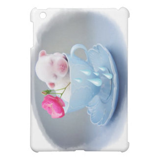 dog in a cup iPad mini cases