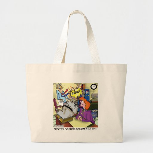 Dog In An In Box Canvas Bags