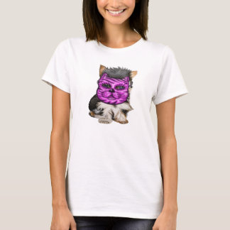 Dog In Cat Mask T-Shirt