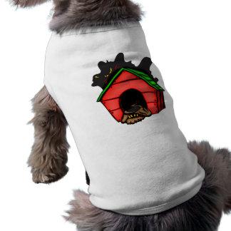 Dog In Dog House Dog Tee Shirt