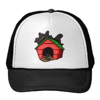 Dog In Dog House Trucker Hat