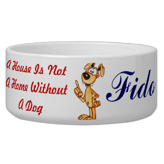 Dog In Every Home Customized Dog Bowls