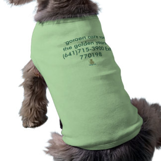 Dog in puppy style. pet tee shirt