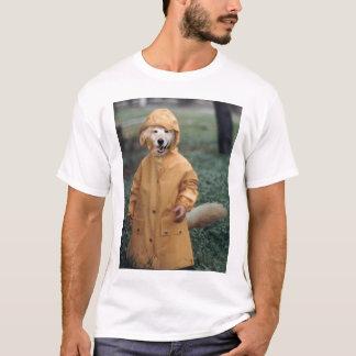 Dog in rain T-Shirt