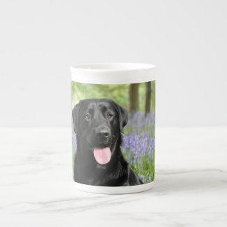 Dog in the Bluebells Bone China Mug Tea Cup