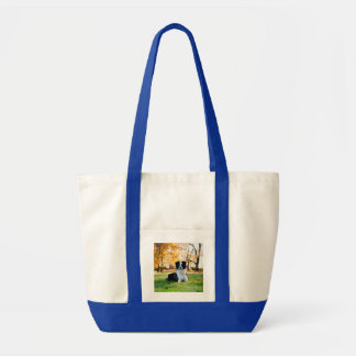 Dog in the Nature Tote Bag