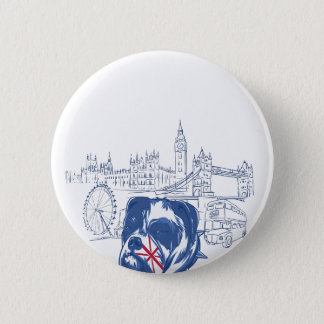 dog in the united kingdom pinback button