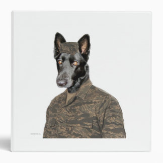 Dog in Uniform binder