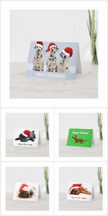 Dog Inspired Christmas Cards
