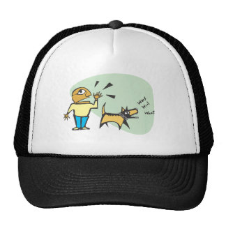 dog is barking trucker hat