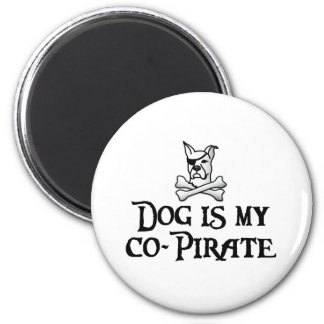 Dog is my co-pirate magnet