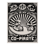 Dog is My Co-Pirate Poster