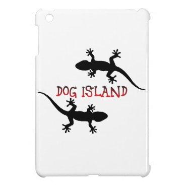 Beach Themed Dog Island Florida. Cover For The iPad Mini