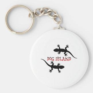 Dog Island Florida. Keychain