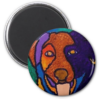 Dog It by Piliero 2 Inch Round Magnet
