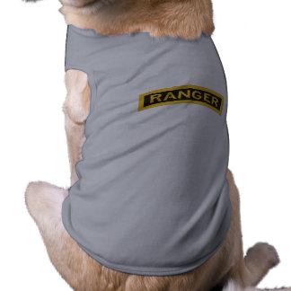 Dog Jacket w/ Ranger Tab Tee