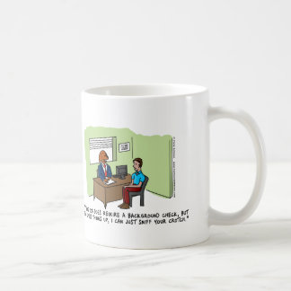 Dog Job Interview Classic Mug