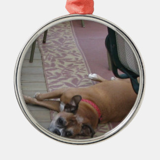 Dog Just Chilling Ornament