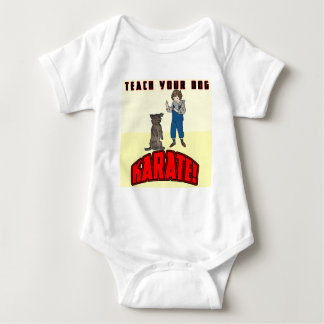 Dog Karate 1 Baby Bodysuit