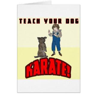 Dog Karate 1 Card