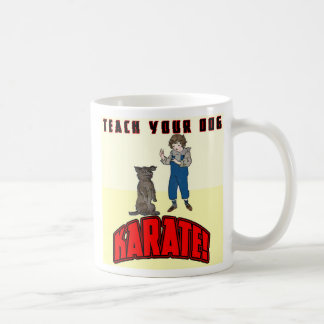 Dog Karate 1 Coffee Mug