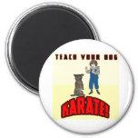Dog Karate 1 Magnet