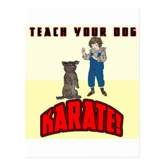 Dog Karate 1 Postcards