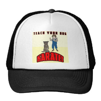 Dog Karate 1 Trucker Hat